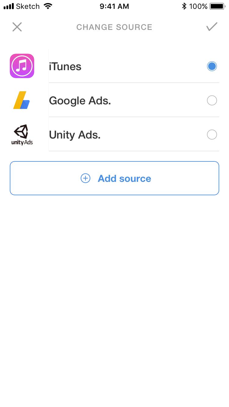 User Experience Designer   Charts app